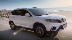 全新景逸X5紧凑级城市SUV 综合实力提升