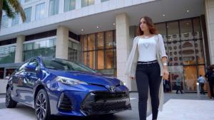 2017款丰田卡罗拉 配丰田安全组合套件
