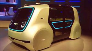 2017日内瓦车展 大众Sedric概念车发布