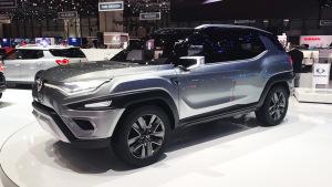 2017日内瓦车展 双龙XAVL概念车亮相