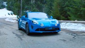 雷诺Alpine A110山路狂飙 破百仅4.5秒