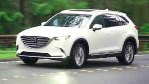 动感7座SUV 2017款马自达CX-9动态展示