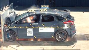 2017款福特福克斯RS NHTSA正面碰撞测试