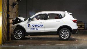 C-NCAP碰撞测试 哈弗H7蓝标版荣获5星