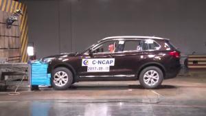C-NCAP碰撞测试 汉腾X7手动尊享型获3星