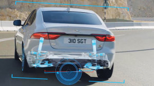 2018款捷豹XF人性化驾驶模式 操控稳定