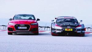 奥迪RS5普通版对决DTM赛车版 驰骋赛道