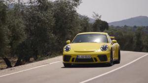 新款保时捷911 GT3 车辆灵敏性提升