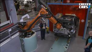 2017款梅赛德斯-奔驰C级 工厂制造过程