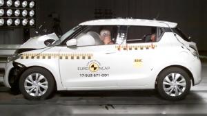 铃木全新速翼特 E-NCAP碰撞测试获三星