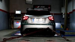 2017款奔驰A45 AMG 改版排气管秀声浪