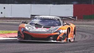宝珀GT赛 迈凯伦650S GT3征战银石赛道