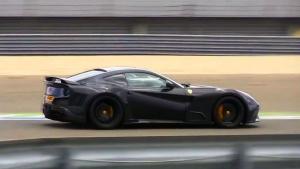 宽体怪物 法拉利F12 N-Largo S狂躁声浪