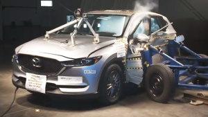 2017款马自达CX-5 NHTSA侧面碰撞测试