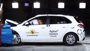 E-NCAP碰撞测试 性能小车现代i30获五星