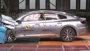 E-NCAP碰撞测试 大众Arteon获五星安全