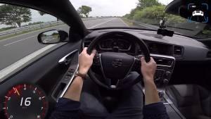沃尔沃V60动力到底多猛?开上高速你就知道厉害了