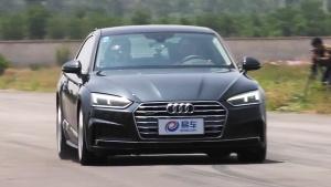 奥迪A5 Coupe 100-0km/h刹车测试