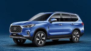 上汽大通首款SUV D90上市 15.67万起售