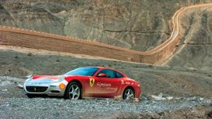 跃马70周年红色之旅 大漠尽洒极速激情