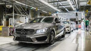 奔驰CLA诞生 探访工厂造车过程