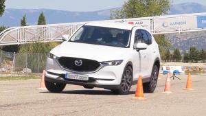 2017款马自达CX-5 紧急避让麋鹿测试
