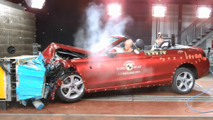 E-NCAP碰撞测试 奔驰C级敞篷版获五星