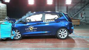 E-NCAP碰撞测试 福特嘉年华获五星