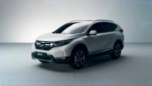 2017法兰克福车展 CR-V混动版将亮相