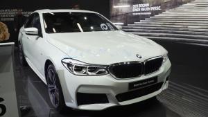 2017法兰克福车展 全新宝马6系GT发布
