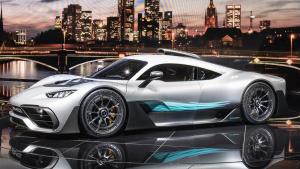 2017法兰克福车展 AMG Project One亮相