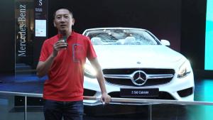 2017法兰克福车展 详解奔驰S级敞篷轿跑