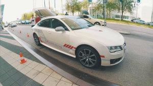 德国试驾奥迪A7 体验自动驾驶系统