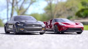 福特GT/野马GT遥控车 赛道竞速漂移过弯