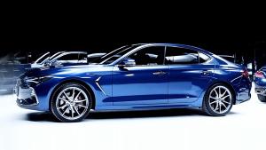 现代捷恩斯G70中型车 提供两款动力选择