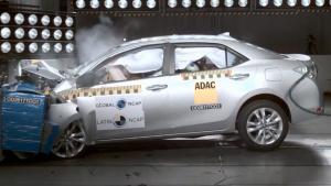 L-NCAP碰撞测试 丰田卡罗拉获五星安全