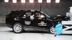 E-NCAP碰撞测试 路虎揽胜星脉获五星