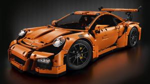 积木速拼 炫酷超跑保时捷911 GT3 RS
