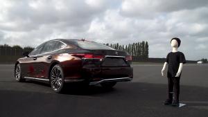 雷克萨斯丰田刹车制动器技术 场景实测