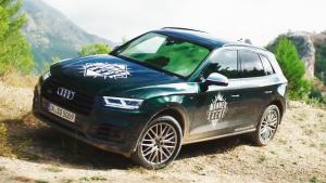 全新奥迪SQ5中型SUV 外观内饰细节实拍