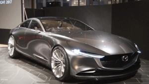 马自达Vision Coupe概念车 亮相车展