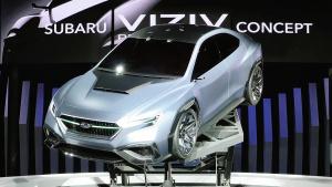 2017东京车展 斯巴鲁Viziv性能概念轿车
