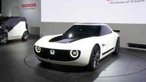 2017东京车展 本田Sports EV概念车亮相