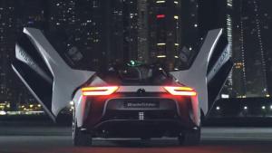 2018款日产聆风电动概念车 颜值创新高