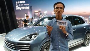 吴佩频道:广州车展全新保时捷Cayenne献上中国首秀