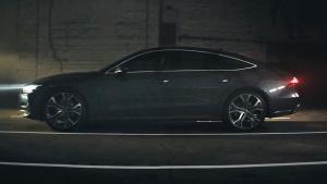 全新奥迪A7 Sportback 采用OLED光源