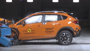 E-NCAP碰撞测试 斯巴鲁翼豹获五星