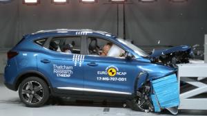 E-NCAP碰撞测试 名爵ZS仅获三星