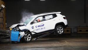C-NCAP碰撞测试 Jeep指南者荣获5星