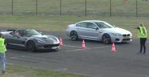 战神太狂了!宝马M6 vs 日产GT-R vs